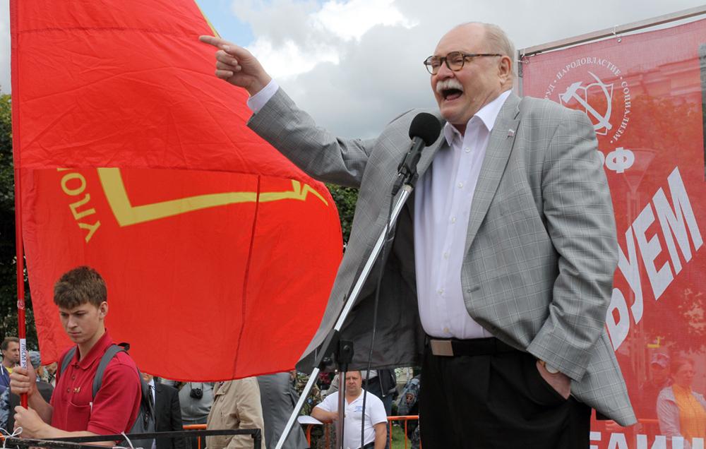 фото ЗакС политика ГИК аннулировал регистрацию кандидата в губернаторы Бортко