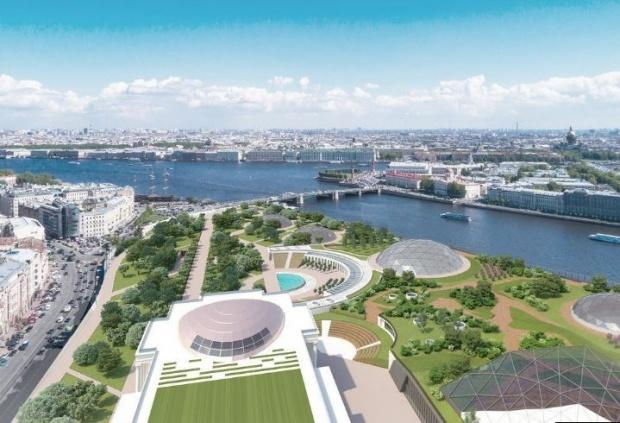 Большинство петербуржцев хотят видеть в арт-парке каток и главный городской газон