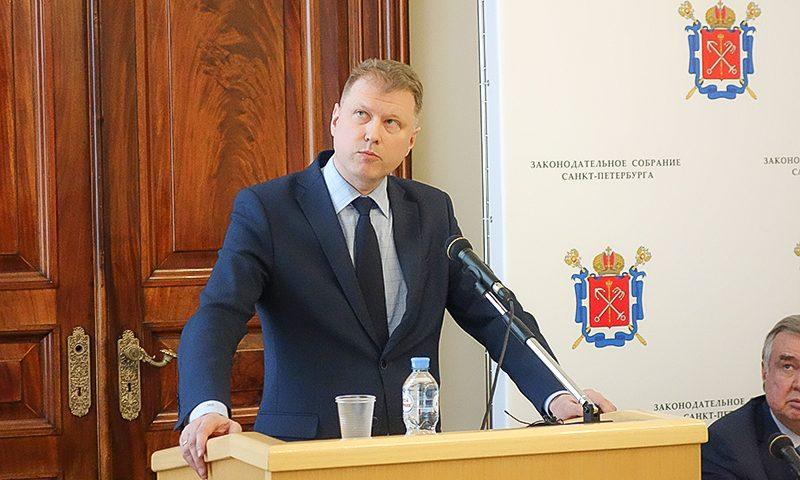 фото ЗакС политика Временно руководить комитетом по благоустройству будет Сергей Малинин