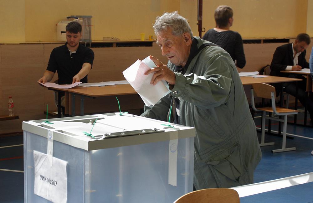 фото ЗакС политика Явка на муниципальных выборах в Ленобласти к 18:00 составила 21,74%