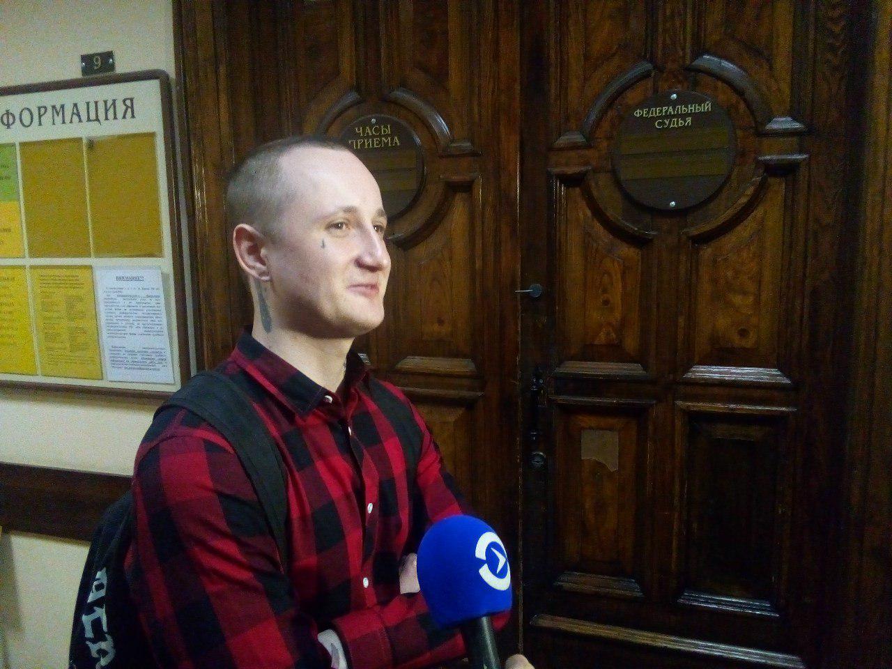 фото ЗакС политика Горсуд оправдал петербуржца Цакунова, отбывшего год в СИЗО за «насилие» над полицейским