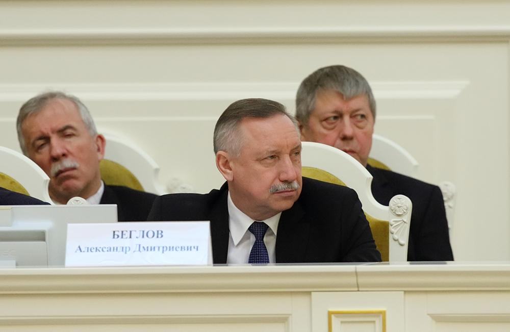 фото ЗакС политика Беглов о своем участии в выборах губернатора: Рано об этом говорить, надо работать