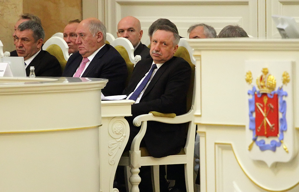 фото ЗакС политика Беглов пообщался с ректором СПбГУ о 300-летнем юбилее вуза