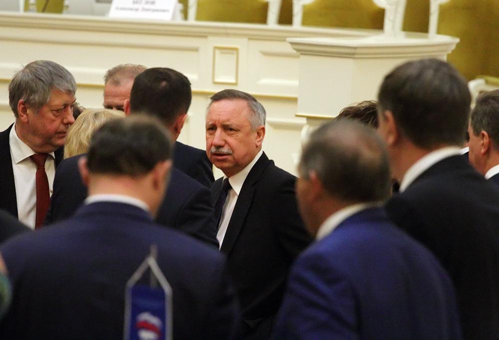 фото ЗакС политика Беглов лично выступит в ЗакСе с ежегодным отчетом о работе правительства Петербурга