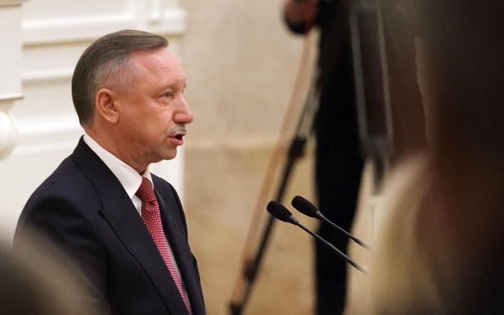 фото ЗакС политика Беглов направил свои соболезнования семье и коллегам Лужкова