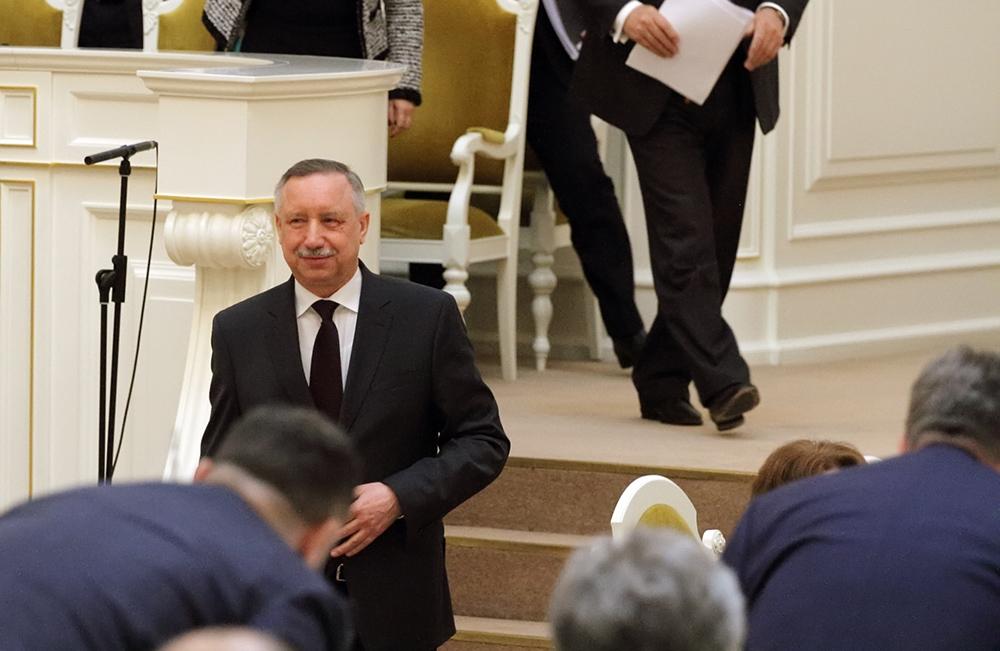 Беглов не пришел на вторые дебаты кандидатов в губернаторы