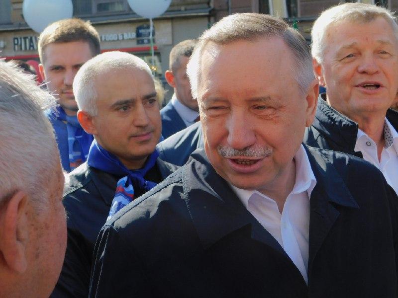 фото ЗакС политика Беглов: Расширение зеленых зон - наша первая обязанность