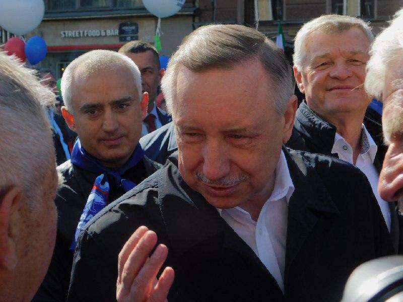 фото ЗакС политика Беглов заявил о готовности участвовать в дебатах
