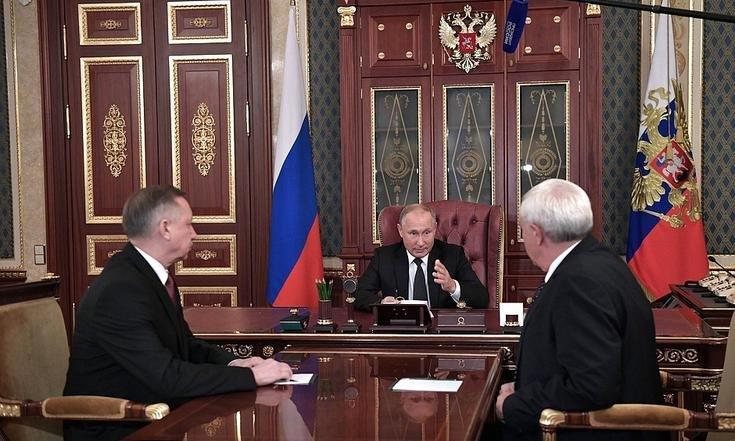 фото ЗакС политика Путин одобрил строительство высокоскоростной железной дороги Петербург-Москва