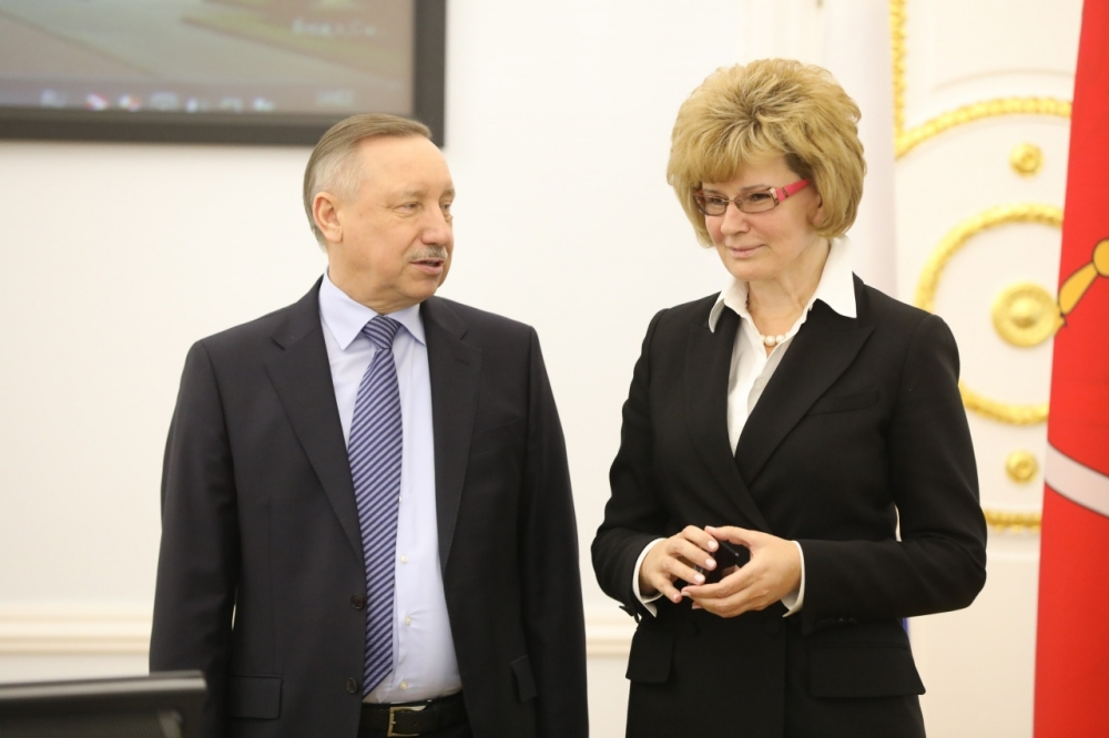 фото ЗакС политика Беглов представил Потехину и Пикалева членам правительства