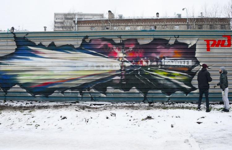 фото ЗакС политика Смольный разработал памятку для стрит-арт-художников о том, как рисовать и не быть оштрафованным