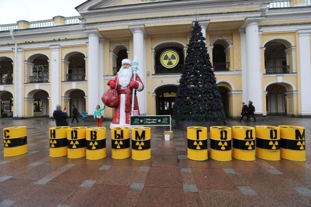 фото ЗакС политика Очередные 600 тонн урановых отходов отправились из Германии в Россию