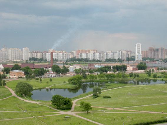 фото ЗакС политика Петербуржцы выступают против вырубки части парка Интернационалистов ради расширения Южного шоссе