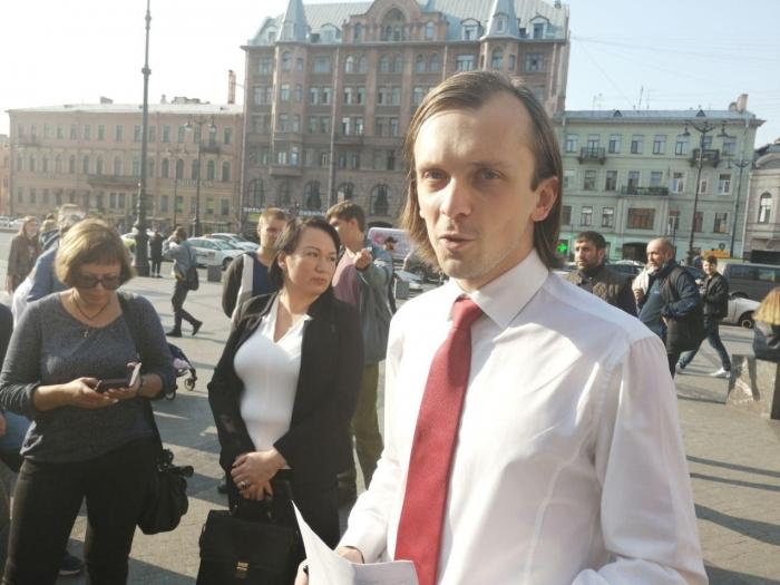 """фото ЗакС политика Петербургские """"немитинги"""" хотят проводить каждый месяц"""