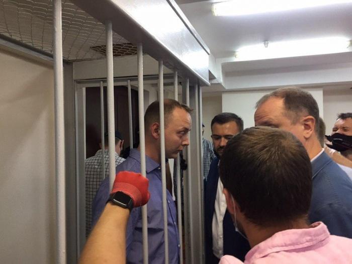 фото ЗакС политика Судья закрыл заседание по избранию меры пресечения Сафронову