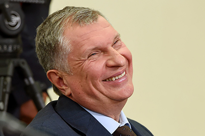 """фото ЗакС политика Сечин переназначен гендиректором """"Роснефти"""" ещё на 5 лет"""