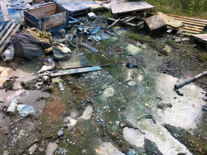 Экологов беспокоит токсичная свалка в Невском районе