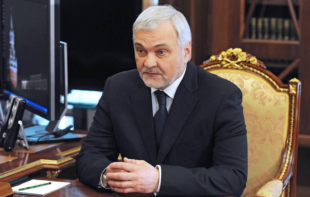 фото ЗакС политика Владимир Уйба официально вступил в должность главы Коми
