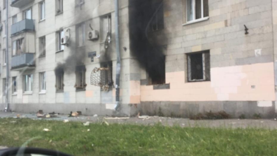 фото ЗакС политика На юге Петербурга в жилом доме произошел взрыв