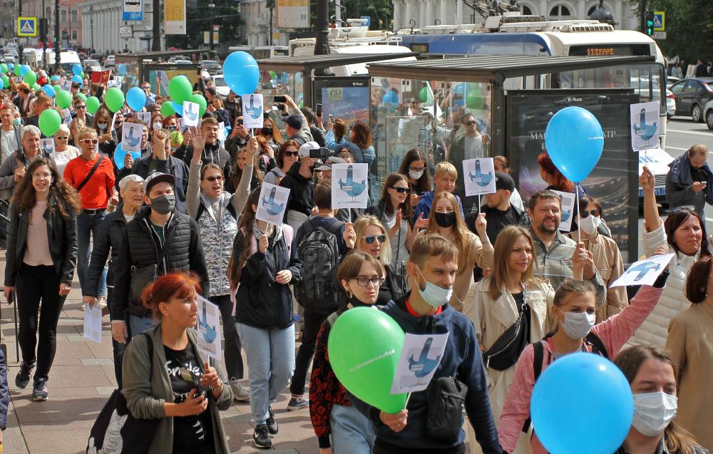 """Против участвующего в протестах хабаровчанина возбудили дело по """"дадинской"""" статье"""
