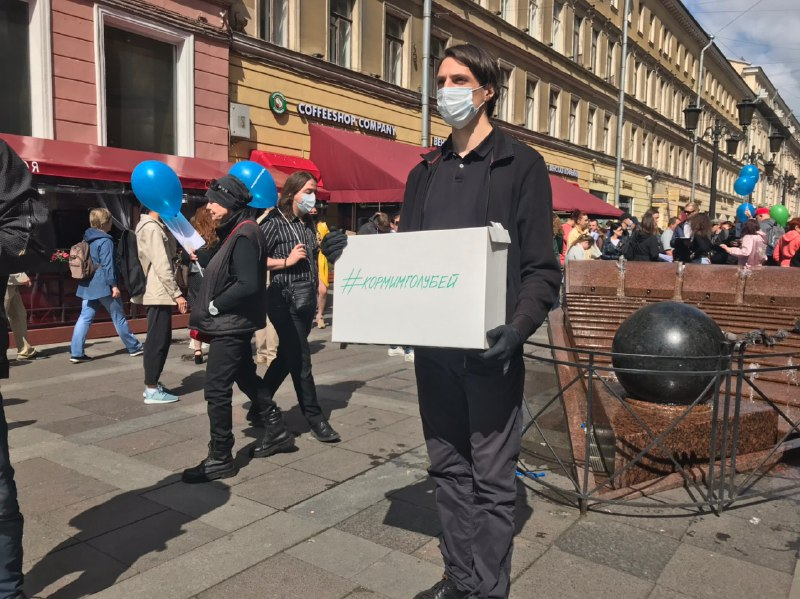 В Петербурге снова проходит сбор подписей под иском против поправок в Конституцию