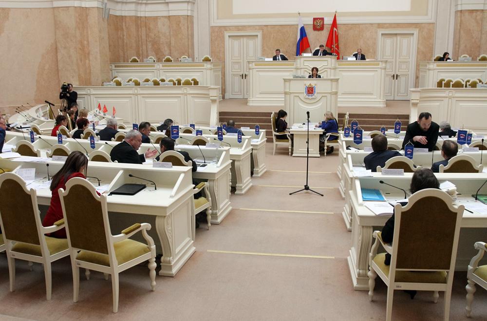 """фото ЗакС политика Петербургский парламент одобрил """"антковидную"""" корректировку бюджета"""