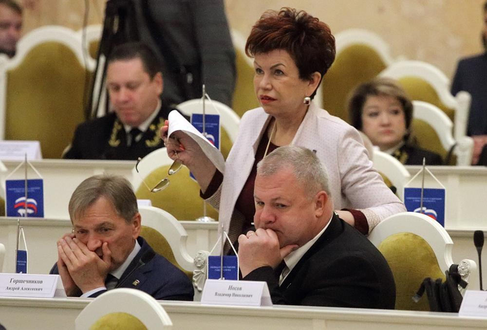 фото ЗакС политика Единоросс Киселева попросила Беглова не строить мусороперерабатывающие предприятия под Колпино