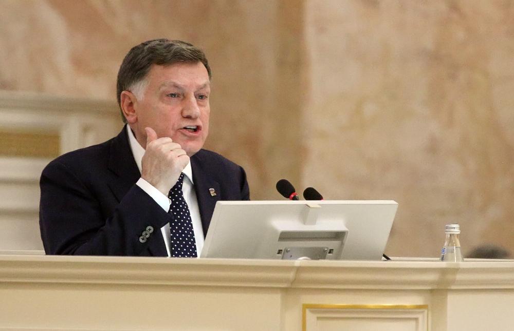 фото ЗакС политика Макаров стал самым цитируемым в СМИ главой регионального парламента в 2020 году
