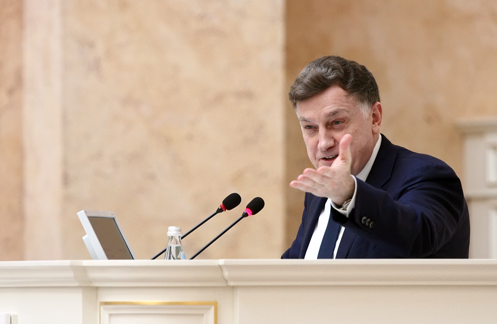 фото ЗакС политика Территорию яхт-клуба на Петровской косе включат в перечень ЗНОП