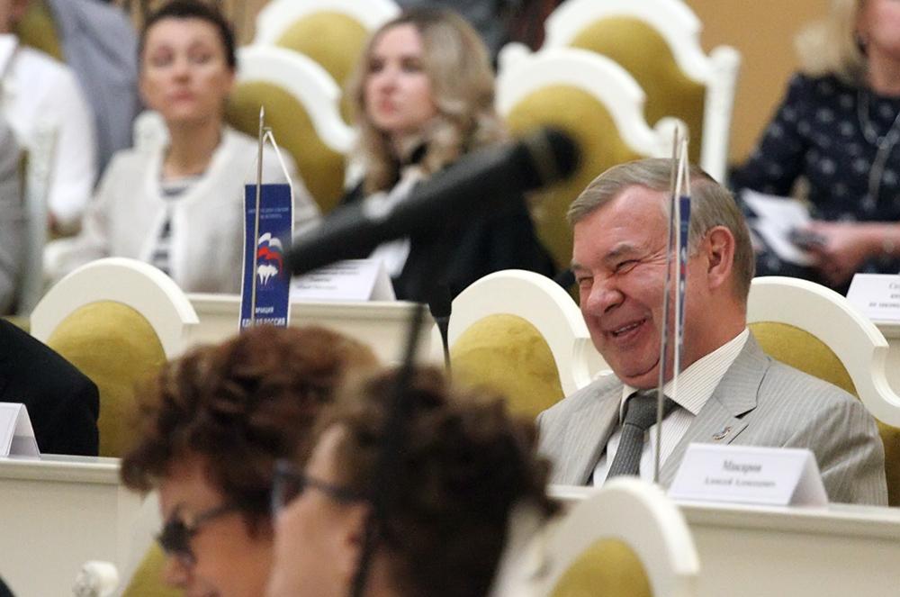 фото ЗакС политика Высоцкого и Авдеева попросили не поддерживать бюджетную реформу для муниципалов