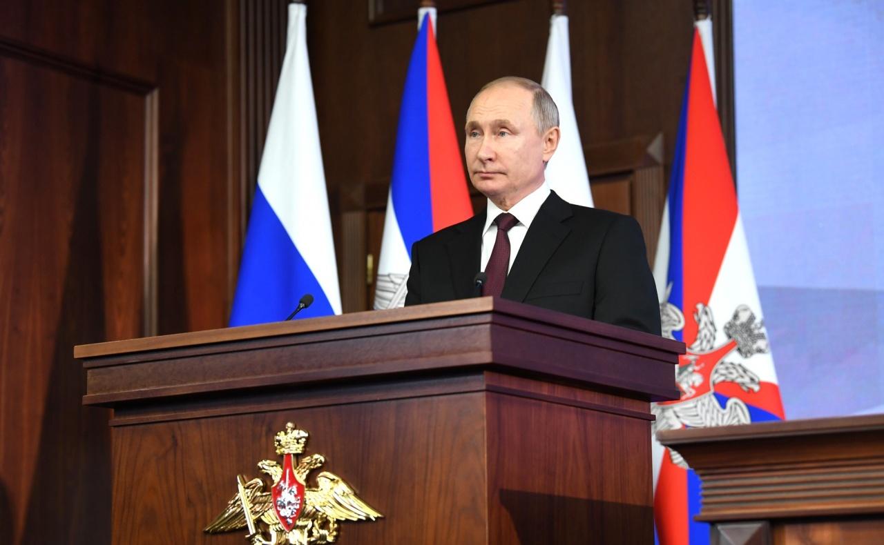фото ЗакС политика Путин подписал закон о неприкосновенности бывших президентов России