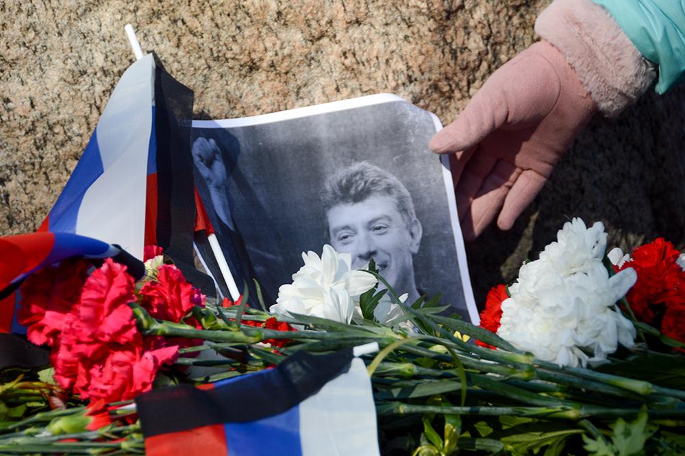 Акцию памяти Немцова в Петербурге планируют провести у Соловецкого камня