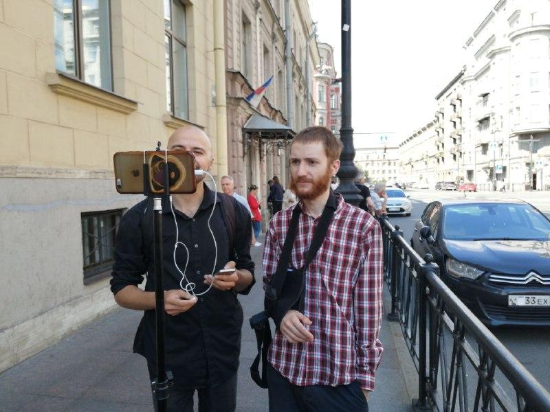 """фото ЗакС политика Прокуратура заявила, что журналист Френкель """"пытался сорвать проведение голосования"""" по поправкам в Конституцию"""
