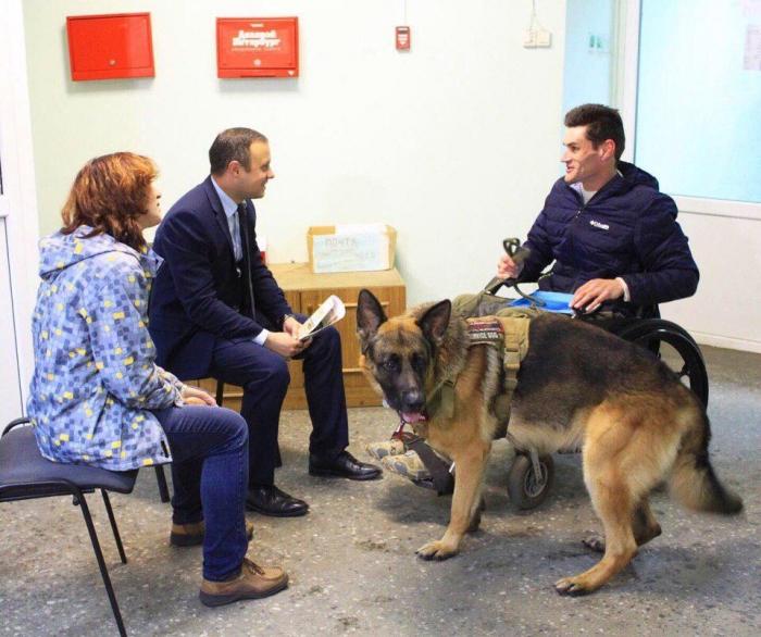 фото ЗакС политика ЗакС одобрил инициативу о собаках-помощниках