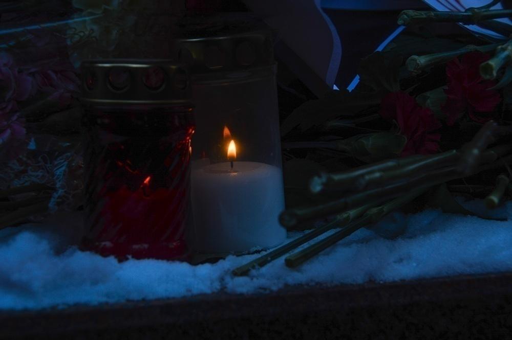 фото ЗакС политика В Выборге простились с убитым депутатом Александром Петровым