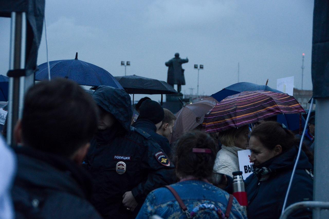 Жители Хабаровска снова вышли на митинг в поддержку Фургала