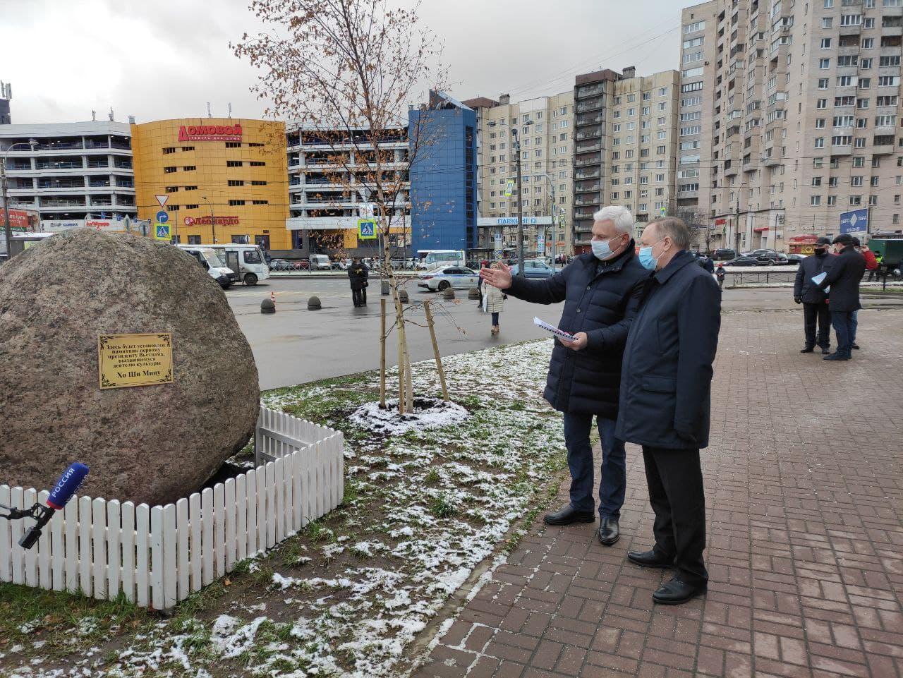 Памятник Хо Ши Мину в Выборгском районе Петербурга откроют в 2021 году