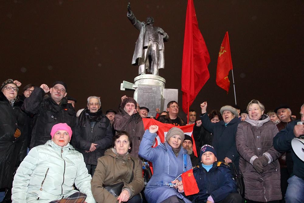 фото ЗакС политика Коммунисты обратились лично к Беглову с просьбой согласовать митинг 7 ноября