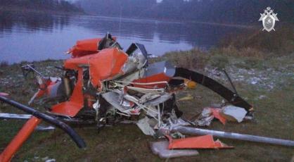 фото ЗакС политика Рухнувший под Вологдой вертолет достали из реки