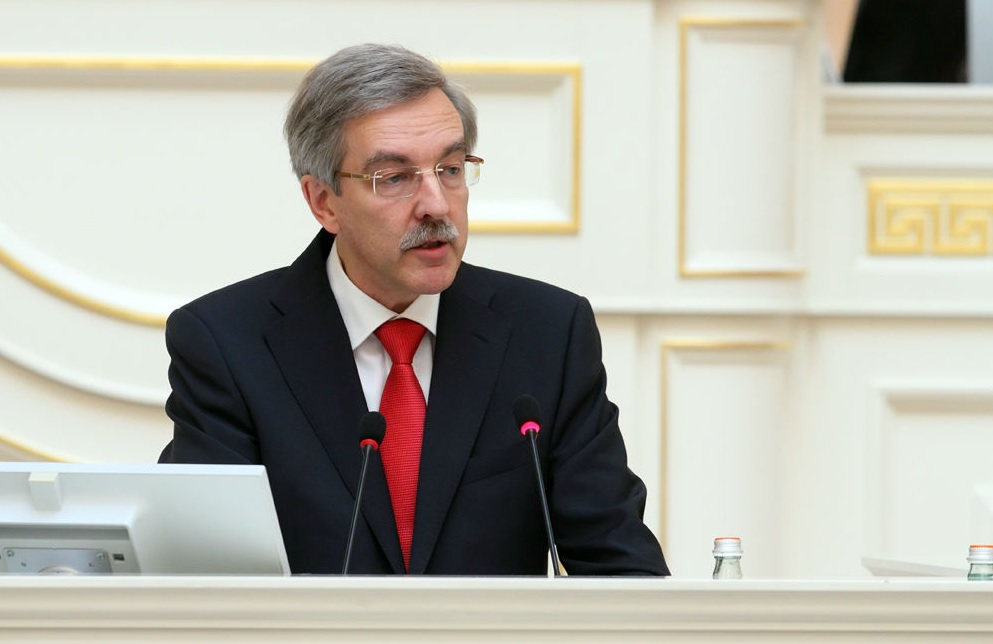 фото ЗакС политика Беглов высоко оценил работу аппарата Шишлова
