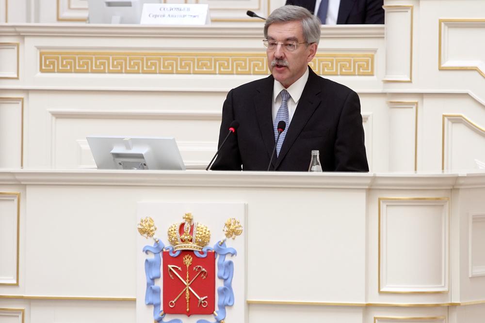Шишлов попросил депутатов поправить проект нового закона об омбудсмене Петербурга
