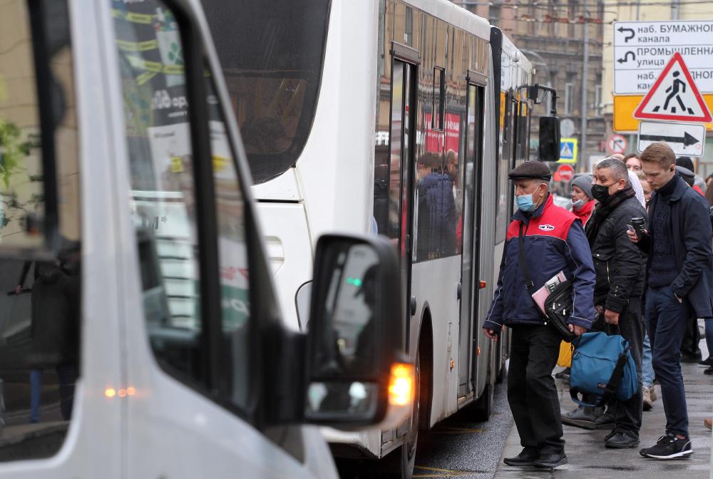 Из-за морозов отменили противоэпидемические меры на карельском транспорте