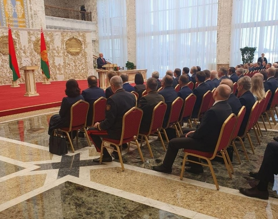 фото ЗакС политика Александр Лукашенко тайно вступил в должность президента Беларуси