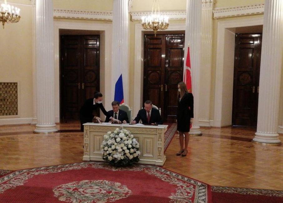 Беглов и Макаров подписали план законотворческой деятельности