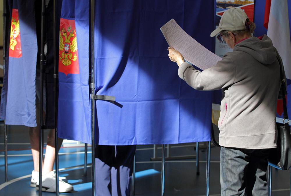 фото ЗакС политика На выборах губернатора Ленобласти проголосовали свыше полумиллиона человек