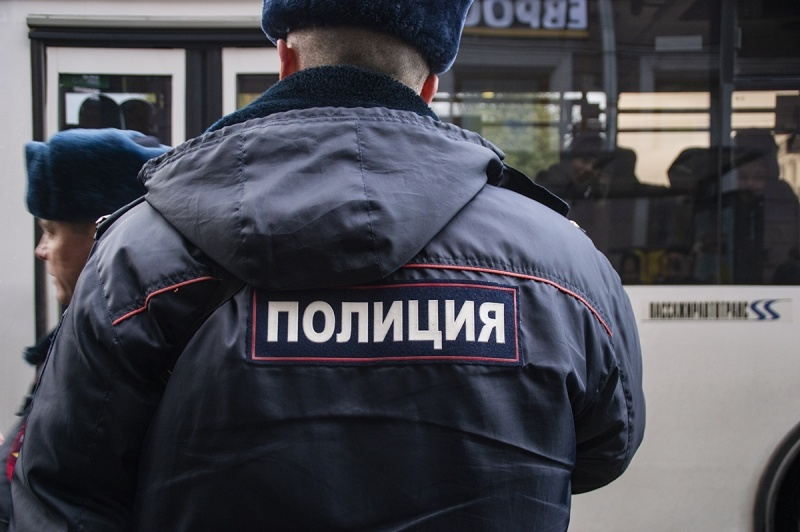 фото ЗакС политика В Москве задержали либертарианцев при попытке развернуть баннер у здания ФСБ