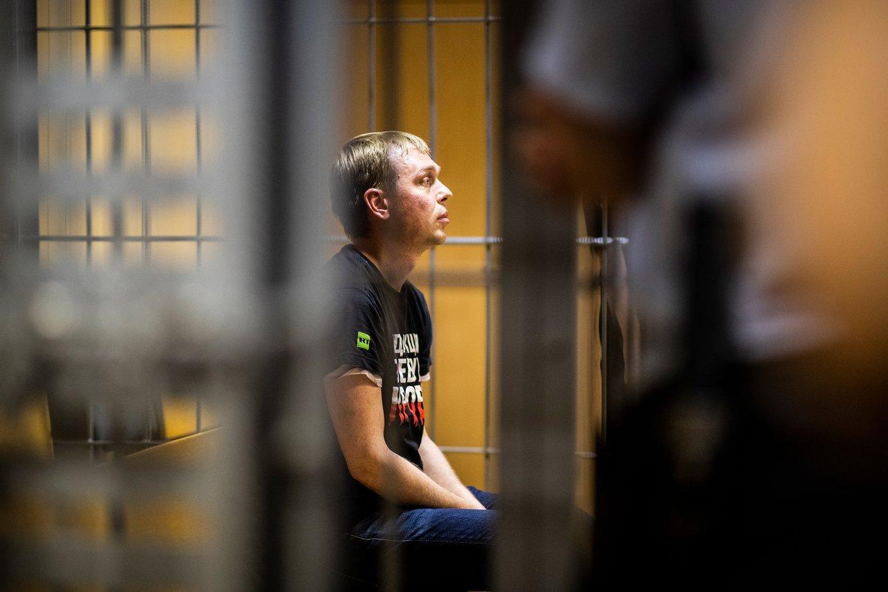 фото ЗакС политика Прокуратура ЗАО Москвы извинилась перед Голуновым за незаконное преследование