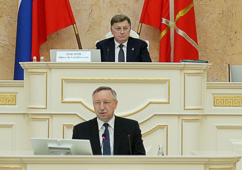 Макаров уверен, что Беглов достойно себя проявил в первый год управления Петербургом