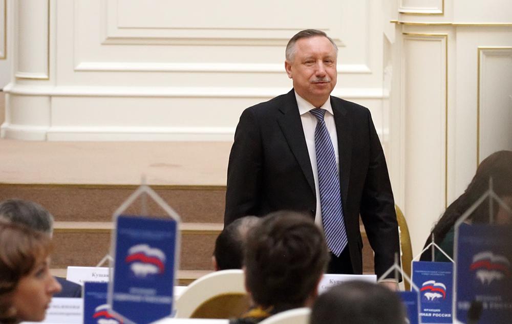 Беглов принял отставку вице-губернатора Кириллова