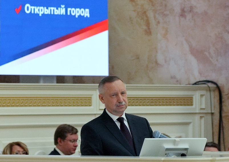 фото ЗакС политика Беглов открыл центр по формированию комфортной городской среды